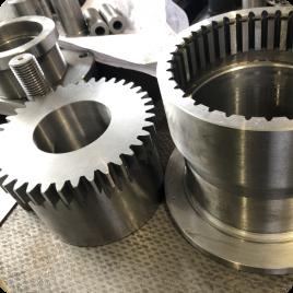 Изготовление запасных частей к оборудованию